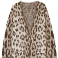 The Oversized Animal Cardigan