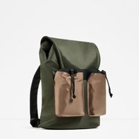 Casual Khaki Backpack