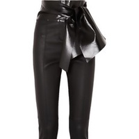 The Bow Tie Leather Trouser