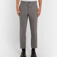 The Cropped Wool Trouser