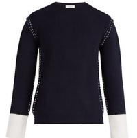 The Contrast Cuff Sweater