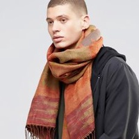Woven Aztec Scarf