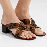 The Reptile Mule Sandal