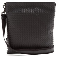 The Woven Leather Cross Body