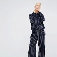 Relaxed Stripe Suit