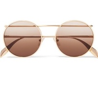 The Brow-Bar Round Sunglasses