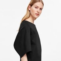 Draped Sleeve Top