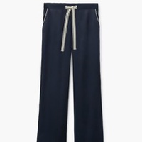 Athletic Satin Trousers