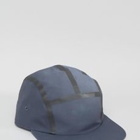 Taped Snapback Cap