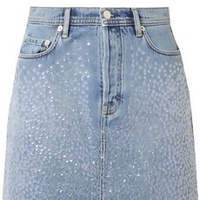 The Disco Denim Mini
